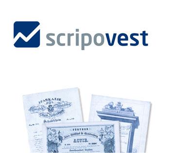 Logo Scripovest AG Historische Wertpapiere